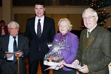v.l.: Paul van Rennings, Dr. Jörg Geerlings MdL, Doris Kies, Hako Maier