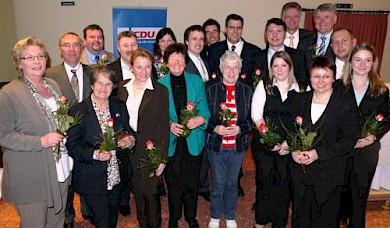 Der am 28.3.2011 gewählte Parteivorstand (Foto: Gesine Eschenburg)