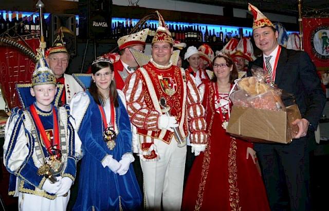 Neusser Karnevalisten zu Gast bei der CDU