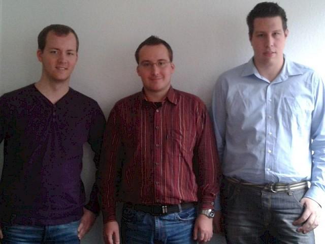 v.l.: Steffen Loebelt, Mario Loebelt, Christoph Peuten
