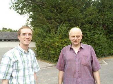 Dr. Johannes Schmitz, Dieter Hupka (v.l.n.r)