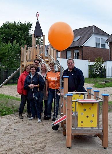 Spielplatz am Gottfried-Schmitz-Weg endlich fertig gestellt