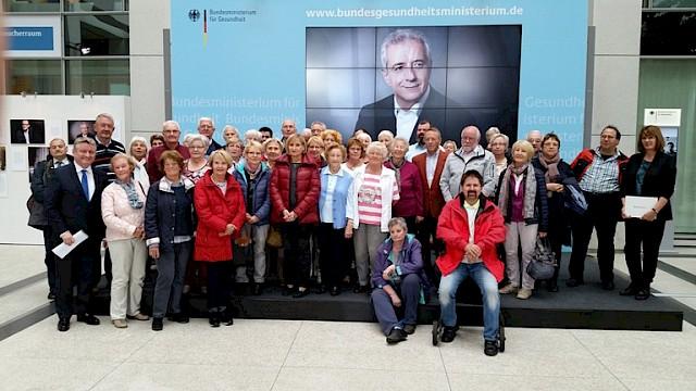 Die CDU Neuss zu Besuch in Berlin