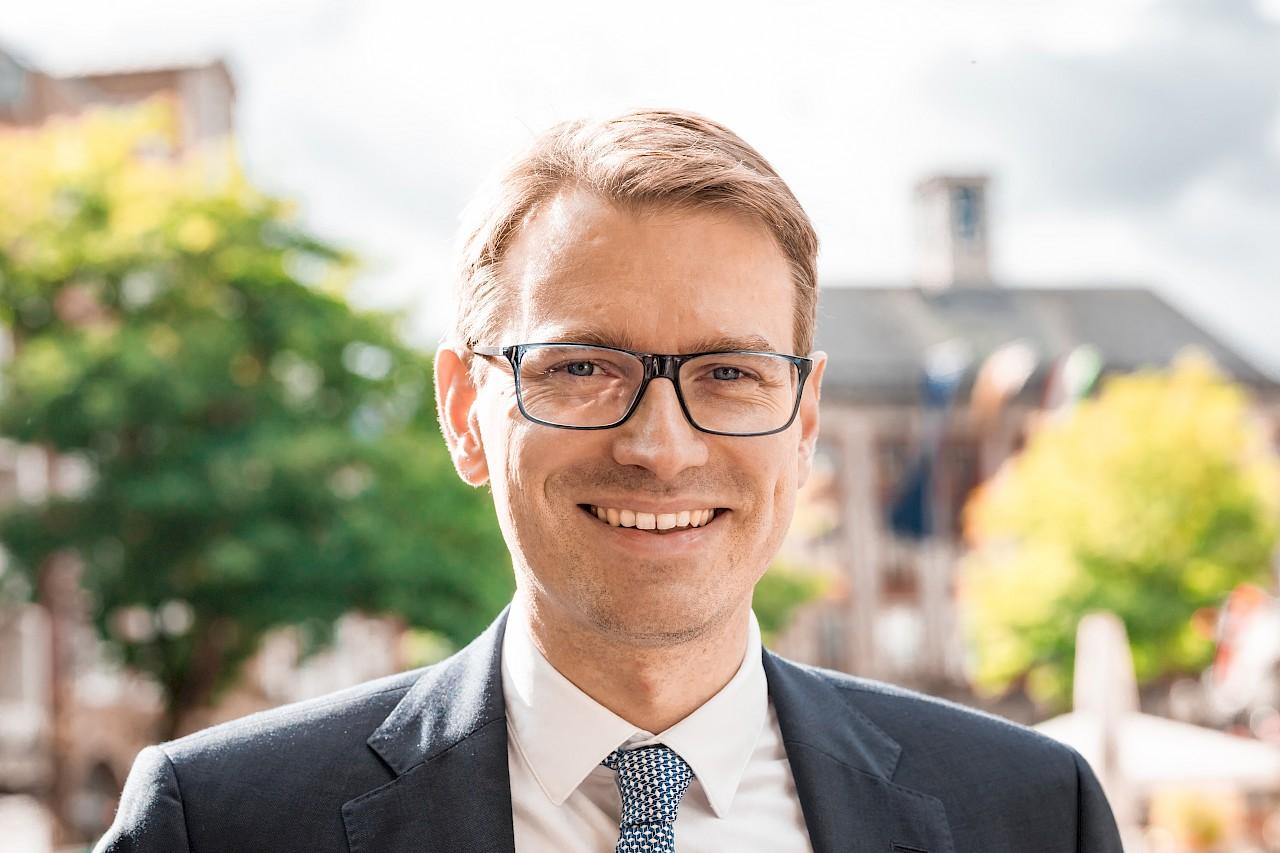 Further Frühschoppen der CDU - Bürgermeisterkandidat Jan-Philipp Büchler zu Gast